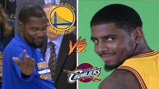 Golden State Warriors VS Cleveland Cavaliers Funny Moments Fight Compilation
