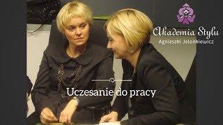 Uczesanie do pracy. Akademia Stylu Agnieszki Jelonkiewicz