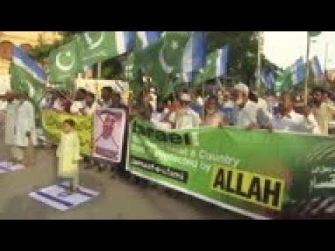 Pakistan Protest Against UAE-Israel Ties