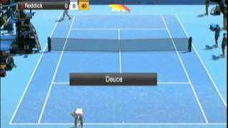 Virtua Tennis 2009 (Nintendo Wii) - Gameplay
