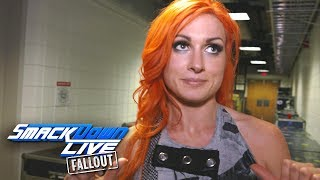 What is Becky Lynch's plan for Team Blue at Survivor Series?: SmackDown LIVE Fallout, Oct. 24, 2017