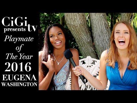 Meet 2016 Playmate of the Year: Eugena Washington!!