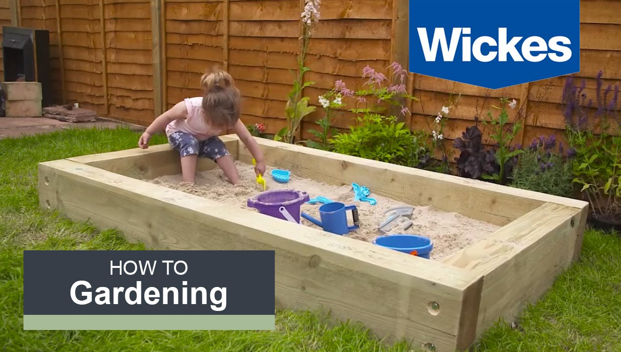 Big W Sand Pit How To Build A Sandpit With Wickes
