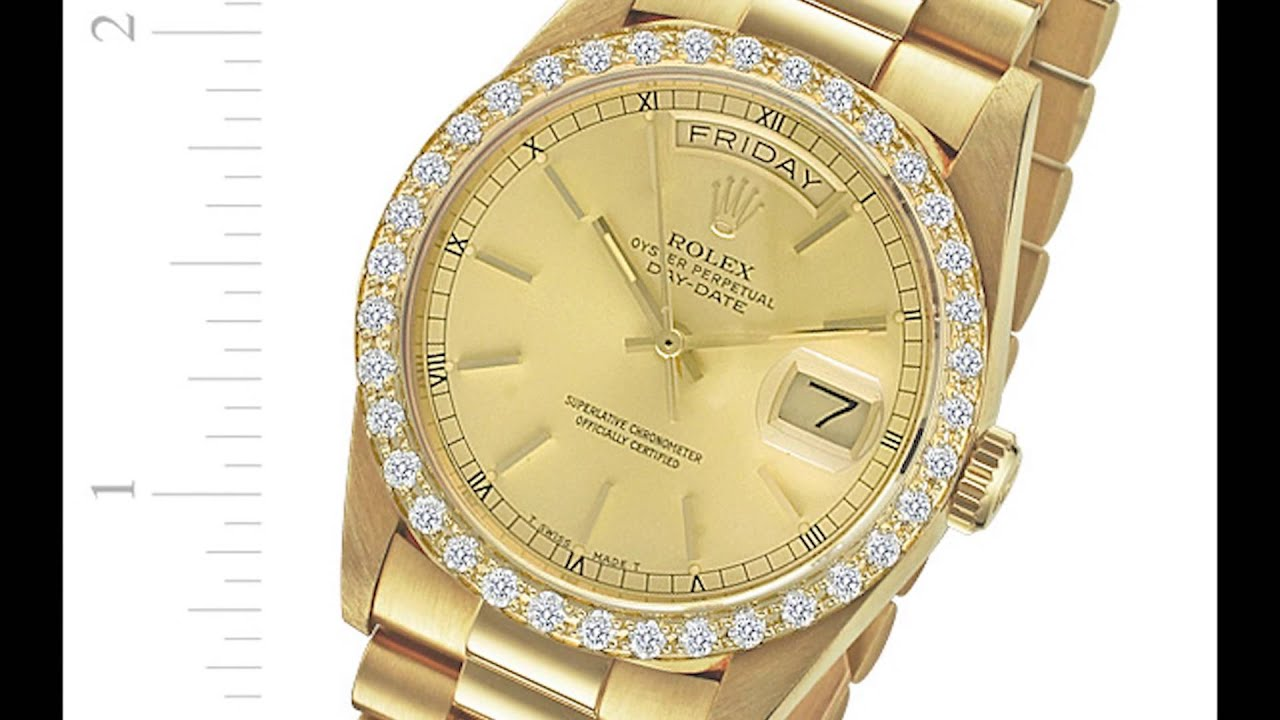 president watches bds quickset dial itm s diamond gold white rolex mop dia mens presidential bezel men date day