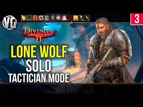 Divinity Original Sin 2: Lone Wolf Walkthrough Part 3 - Fort Joy