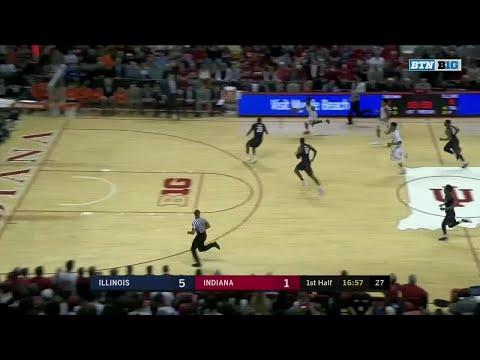 Indiana vs. Illinois Highlights