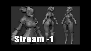 Stream - 1 Начинаем делать работу на конкурс