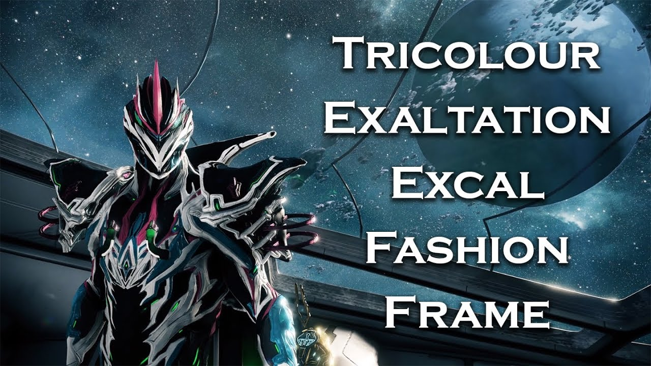 7d9f649e4281 Warframe The TRUE Endgame is Pay to Win EXCALIBUR Fashion Frame .