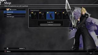 DISSIDIA FINAL FANTASY NT - All Costumes/Weapons/Icons Unlock