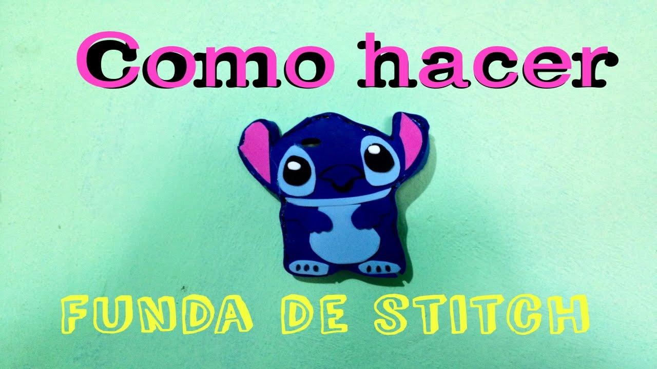 Como Hacer Una Funda De Stitch #diy #funda #stitch - YouTube