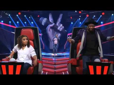 The Voice Angola ep1 Isamira Sampaio