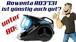 Was taugt ein Staubsauger unter 70€? - Rowenta RO3731EA im Test - 4K