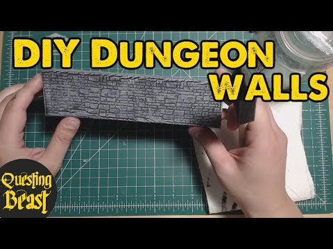 Quick and Dirty Dungeon Walls for DnD
