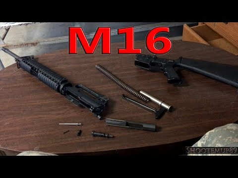 How To Take Apart An M16