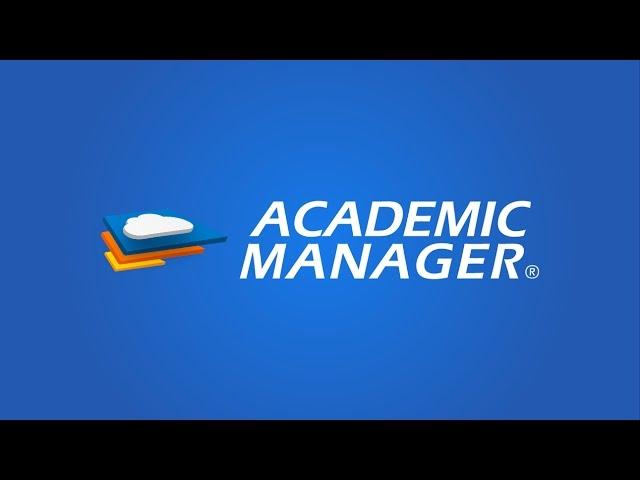 Academic Manager - Software de Gestión Escolar ¡100% Web!