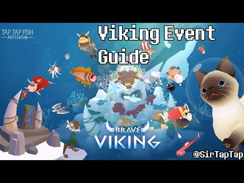 Tap Tap Fish AbyssRium Viking Event Guide | Fish Review, All Unlocks, Discussion