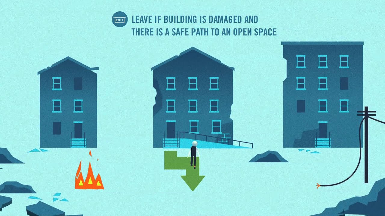 An animated video from FEMA about how to prepare for an earthquake and what to do during an earthquake.