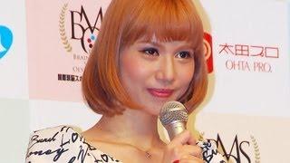 タレントの水沢アリーさんが7月30日、東京都内で行われた「国際頭脳スポ...
