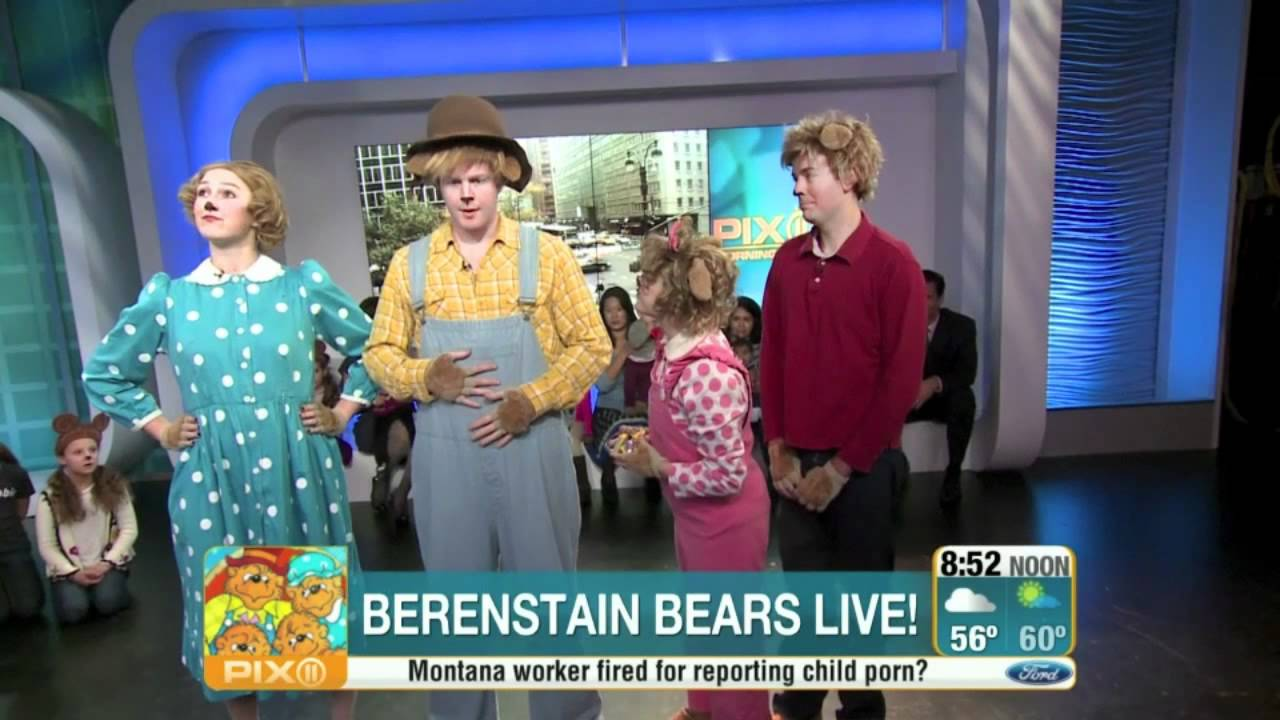 sc 1 st  YouTube & The Berenstain Bears LIVE! on WPIX - YouTube