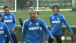 ALLENAMENTO INTER REAL AUDIO 02 10 2015