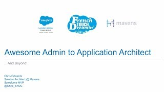 Awesome Admin to Application Architect ...And Beyond!