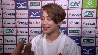 Christa DEGUCHI (CAN) Gold Paris Judo GS 2019