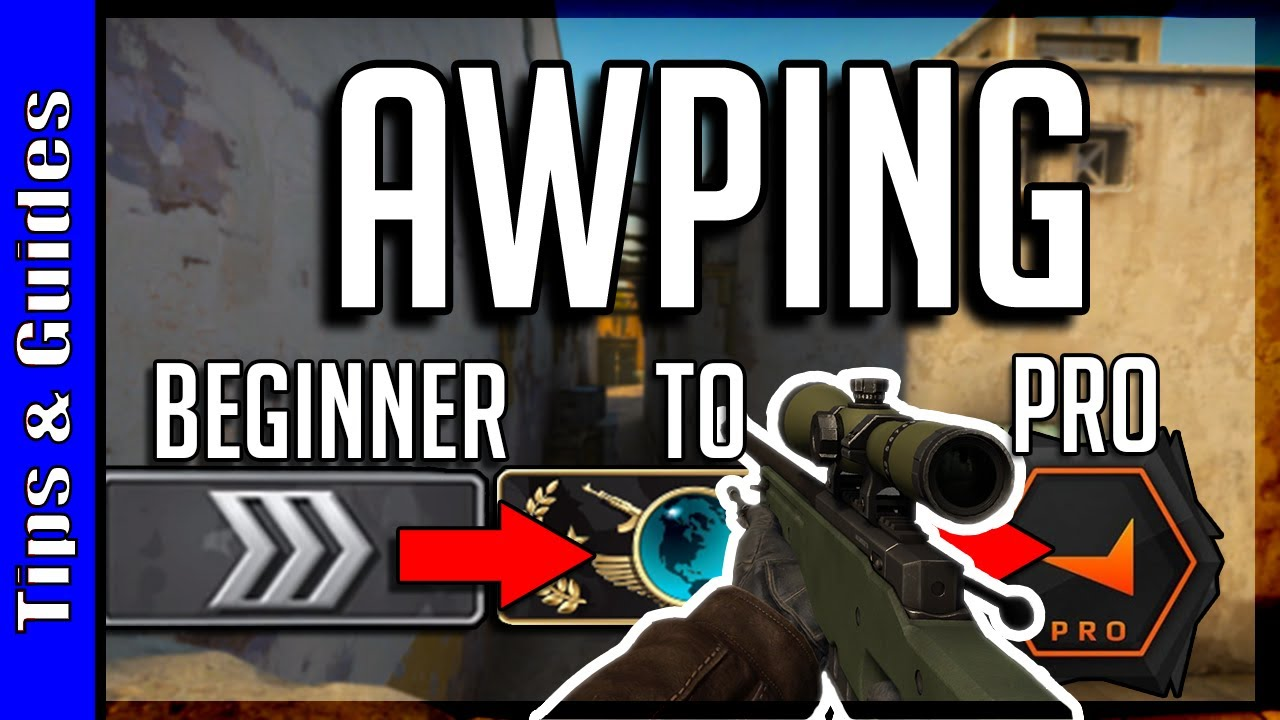 4 Levels of AWPing : Beginner to Pro (ft. Voltage & Mahone_TV)