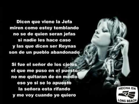 LEVANTON.COM .....Jenny Rivera - Los Ovarios 2009 (con-Letra)