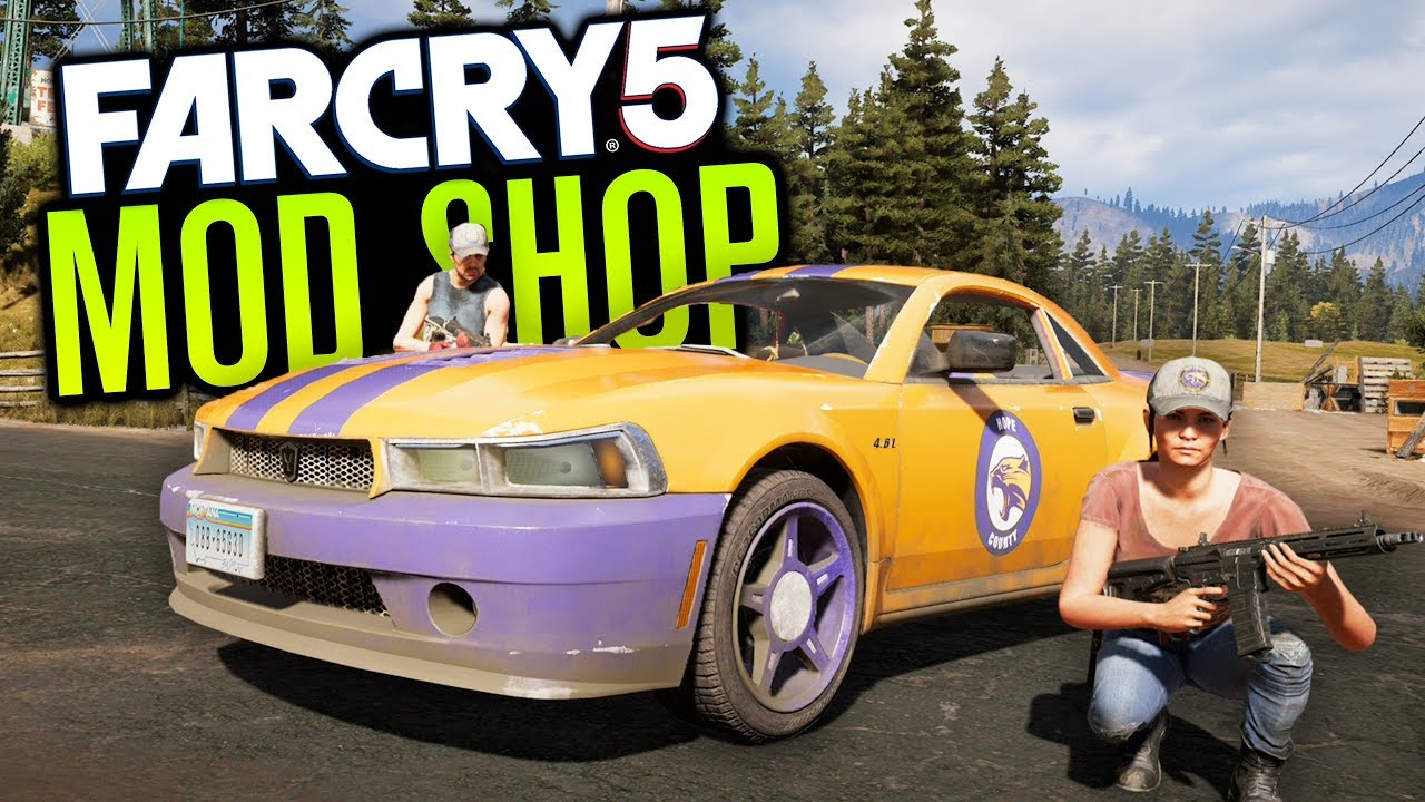 Car Customisation In Far Cry 5 Co Op