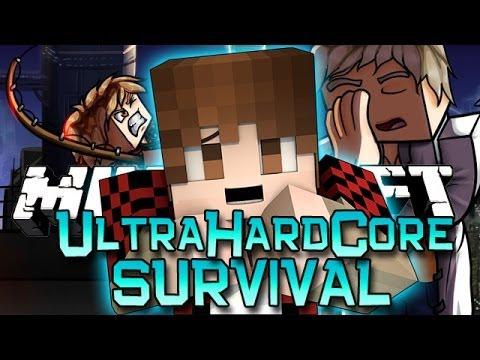 Minecraft: Ultra Hardcore w/Team Nexus Ep. 1 - New Features! (UHC Mod)