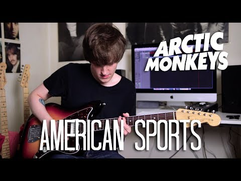 American Sports - Arctic Monkeys Cover (Tranquility Base Hotel + Casino Album Cover)
