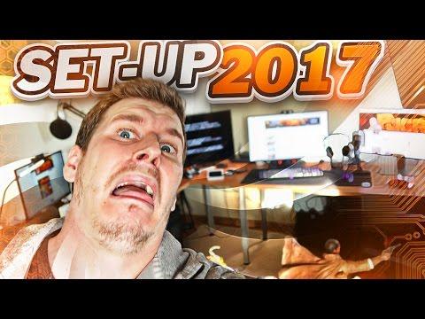 MI ZONA YOUTUBER!   SET-UP 2017 (ESPAÑA)