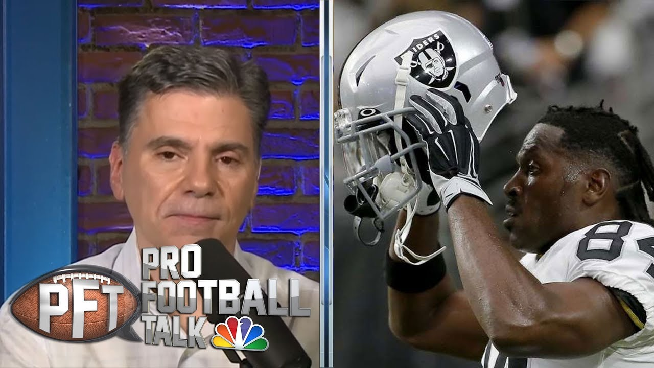 PFT Overtime: Antonio Brown's helmet drama, Titans QB situation | Pro Football Talk | NBC Sports