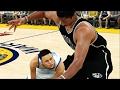 Giant Brooklyn Nets VS Tiny Golden State Warriors   NBA 2K17 Challenge