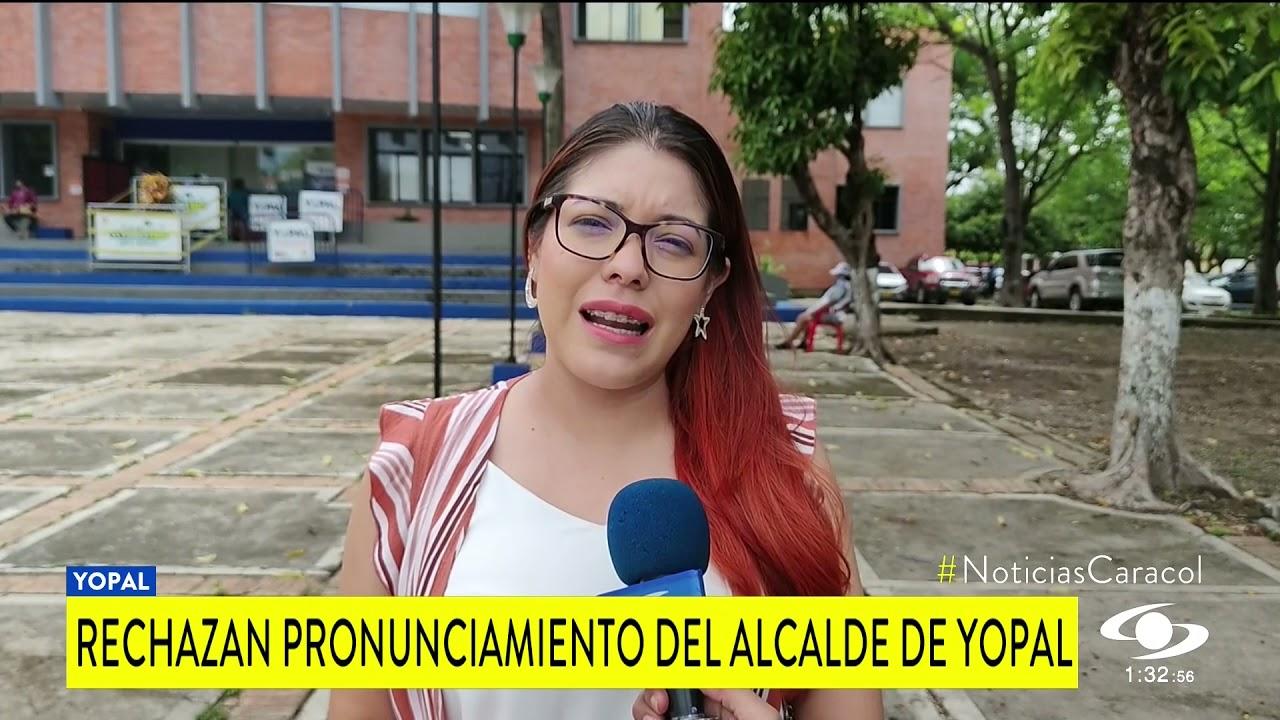 """""""A consumir producto colombiano"""" Alcalde de Yopal, refiriéndose a la prostitución"""