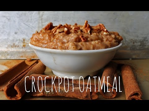 How To Make Oatmeal in a Slow Cooker