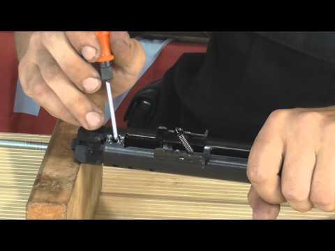 Как поменять газовую пружину на хатсан 125