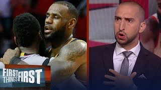 Nick Wright on James Harden winning MVP over LeBron, Ben Simmons ROY | NBA | FIRST THINGS FIRST