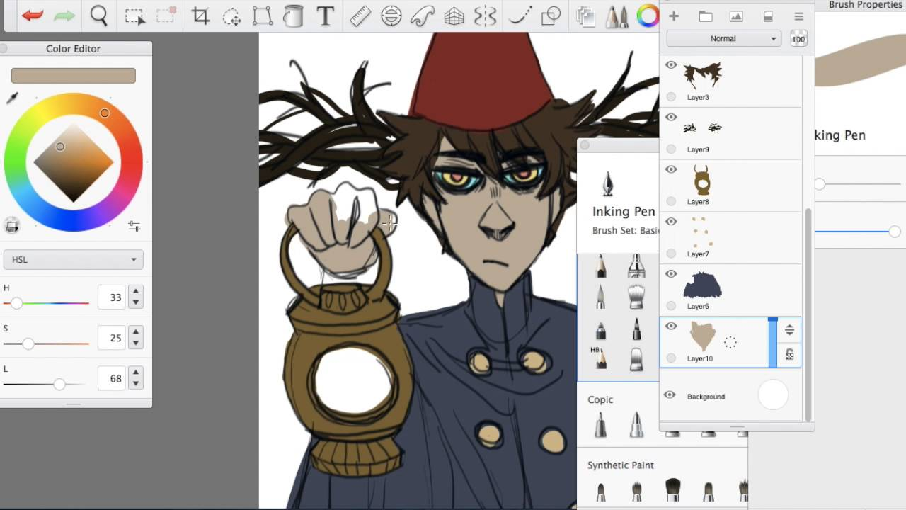 The Gravity Falls Wallpapers Speed Paint Beast Wirt Over The Garden Wall Youtube
