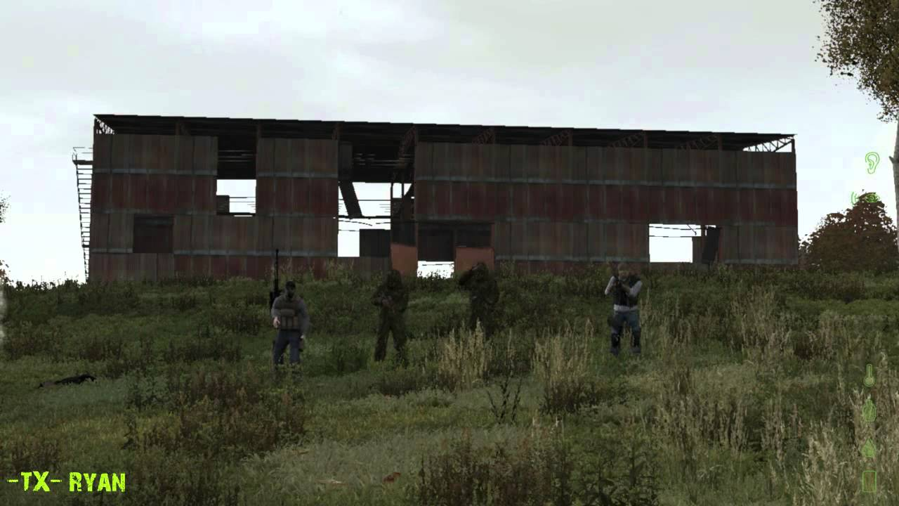 Building Blowing Up : Dayz tx blowing up red building in stary youtube