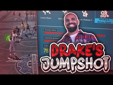 SHOOTING WITH DRAKE'S IRL JUMPSHOT ON NBA 2K18! NEW CHEAT CODE JUMPSHOT?! NBA 2K18
