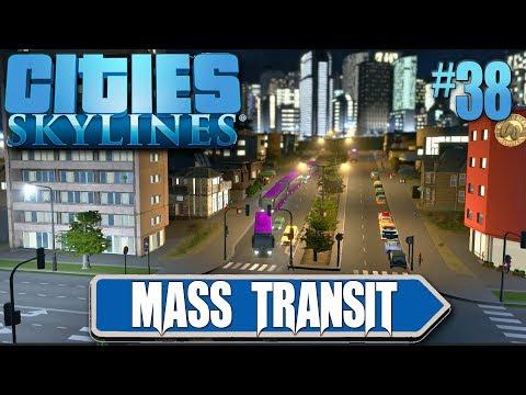 Cities Skylines Mass Transit #38 Brand New Transport Hub