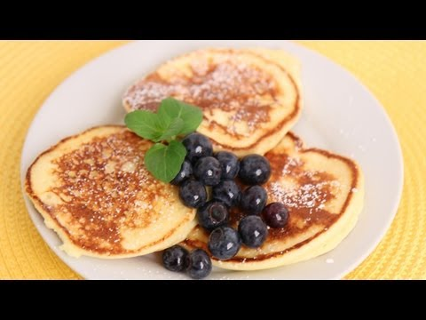 Ricotta Pancakes Recipe - Laura Vitale - Laura in the Kitchen Episode 560