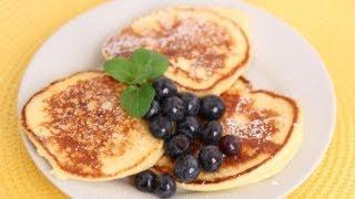 Ricotta Pancakes Recipe - Laura Vitale - Laura In The Kitchen Episode 560