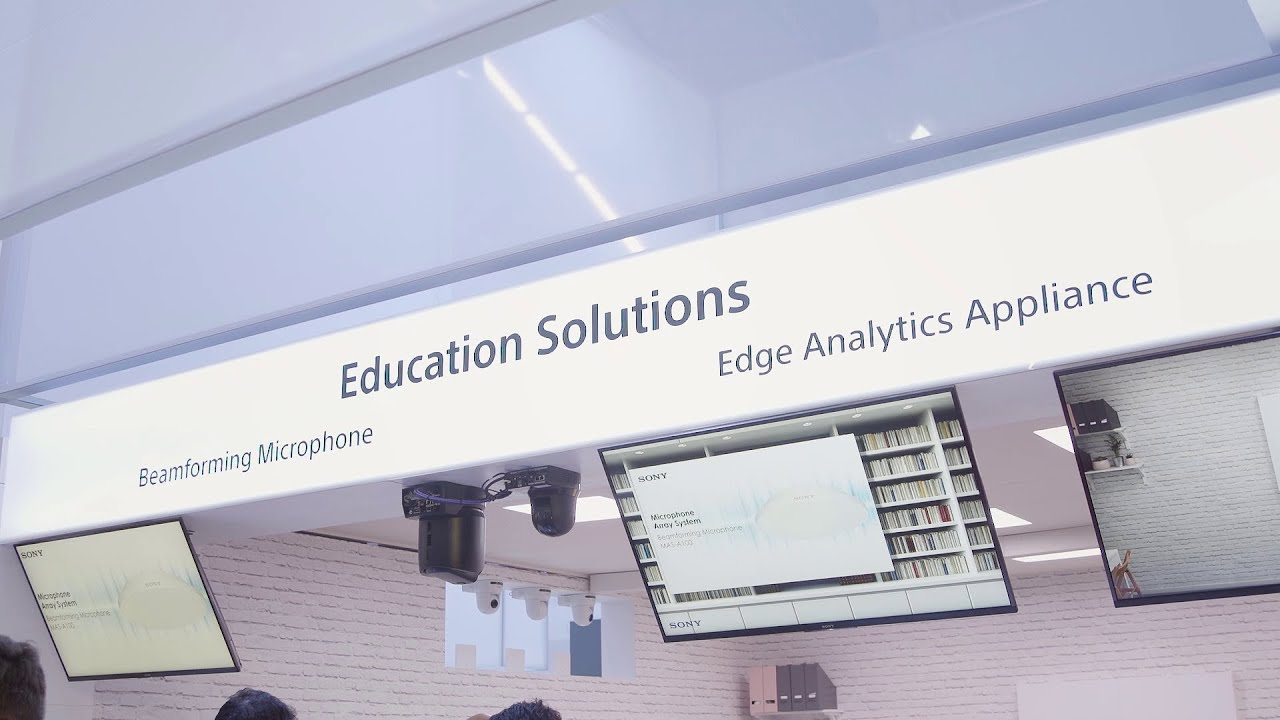 Sony Professional Reveal New Education Solutions At Ise 2020 Youtube