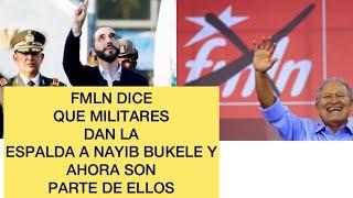 ULTIMA HORA Militares se unen al FMLN segun ellos 😂