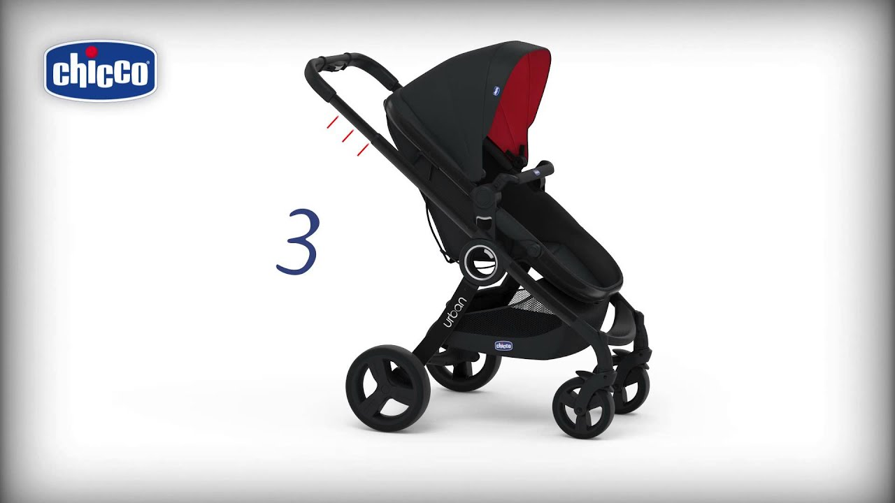 Детская коляска Chicco Urban Plus без аксесуаров