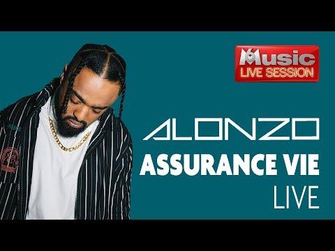 """""""Assurance vie"""" en LIVE - Alonzo pour sa M6 Music Live Session"""