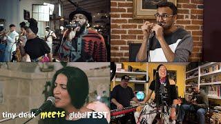 Tiny Desk Meets globalFEST: Vox Sambou, Aditya Prakash Ensemble, Rachele Andrioli, Martha Redbone