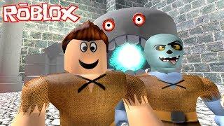 Zombik ve Steve Zindanda 👮 - Roblox Escape The Dungeon Obby!